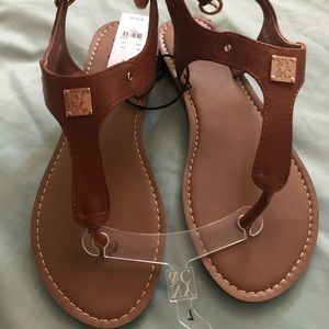 Brand new tan New York & Company sandals
